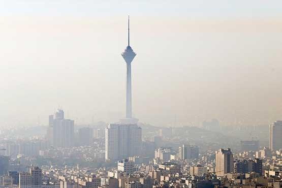 هوای تهران در 10 اسفند ماه؛ ناسالم برای گروه های حساس است